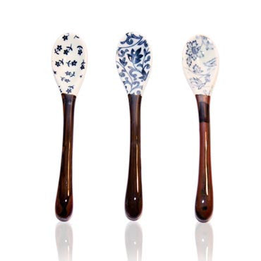 Japanese Ceramic Teaspoons (Set of 3)
