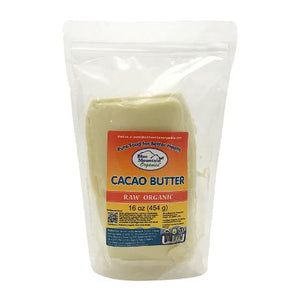 Organic Cacao Butter 1lb/453g