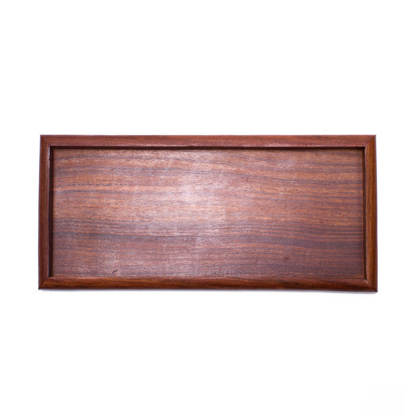 Solid Rosewood Tray - Rectangle