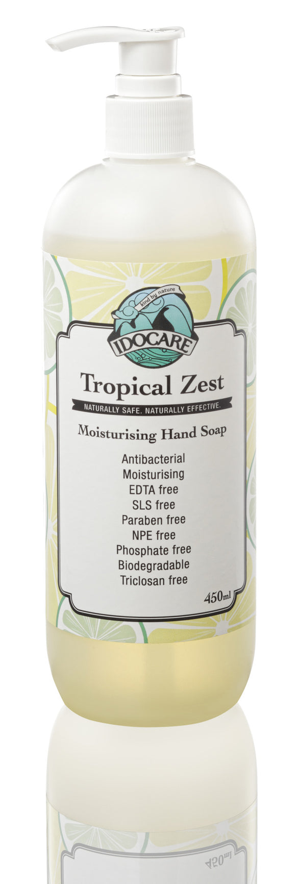 Idocare Tropical Zest Moisturising Hand Soap (450ml)
