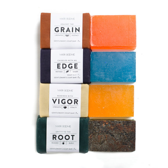 All Man - Gentlemen's Ayurvedic Soap Bars (4 scents)