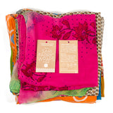 Sari Fabric Wraps - Set of 3 (Assorted)