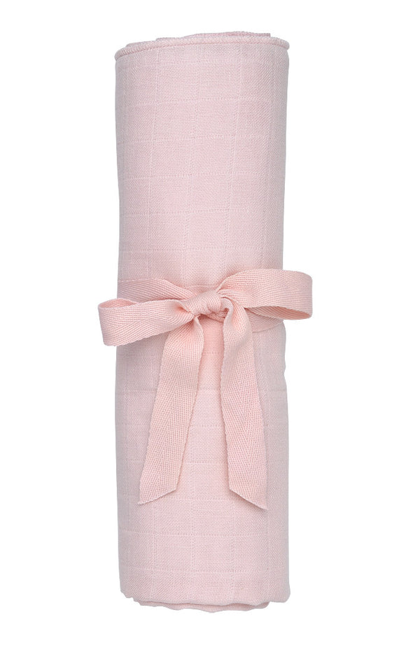 Muslin Swaddle Blanket, Blush