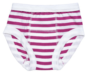 Training Pant, Fuchsia/White Stripe