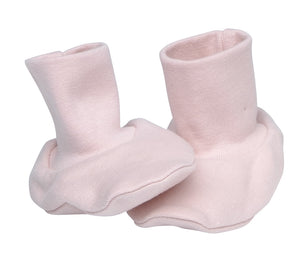Baby Booties, Blush