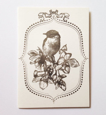 Letterpressed - Greeting card (Bird)