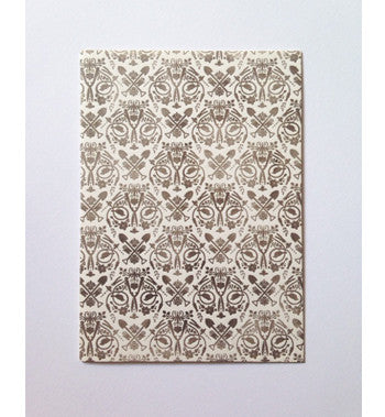 Letterpressed - Greeting card (Motif)