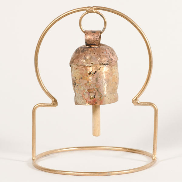 Asian Arches Table Top Bell - Dome