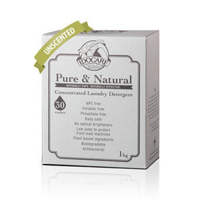 Idocare Pure & Natural Conc. Detergent Scent-Free (1 kg)
