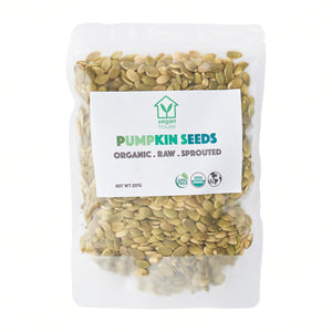 Raw Organic Sprouted Pumpkin Seeds (8oz./227g)