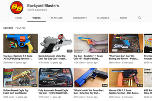 Backyard Blasters Youtube Channel