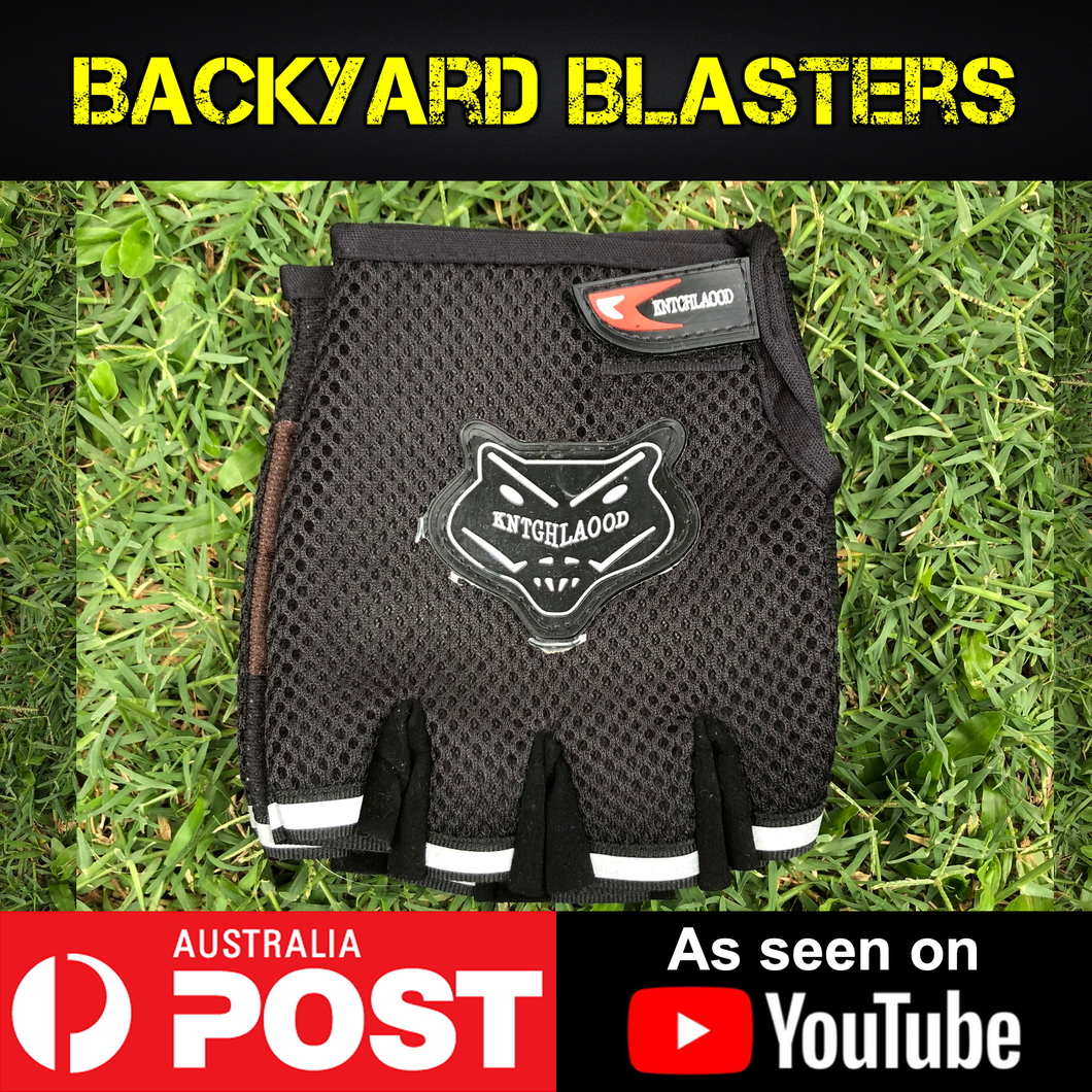 Protective Lightweight Gloves - Backyard Blasters