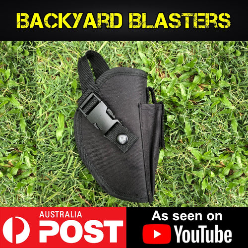 Quickdraw Tactical Waist Pistol Holster - Backyard Blasters