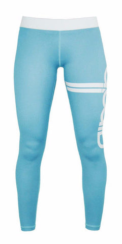 Aimn Blue Stripe Legging
