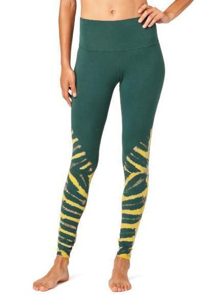 Electric & Rose Sunset Legging Crocodile Wash Pacific - yApparel