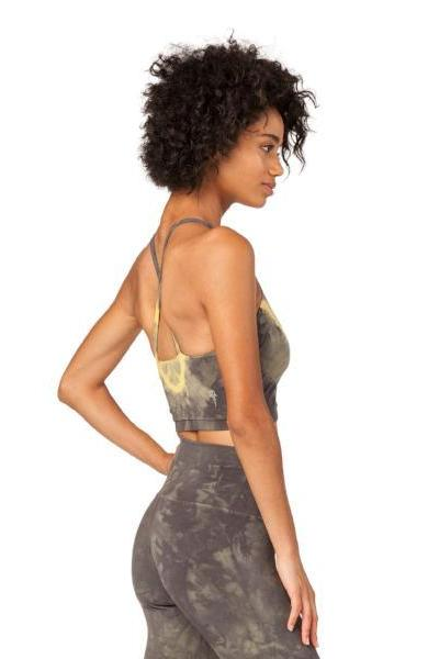 Electric & Rose Grayson Crop Chevron Wash Charcoal Viper - yApparel