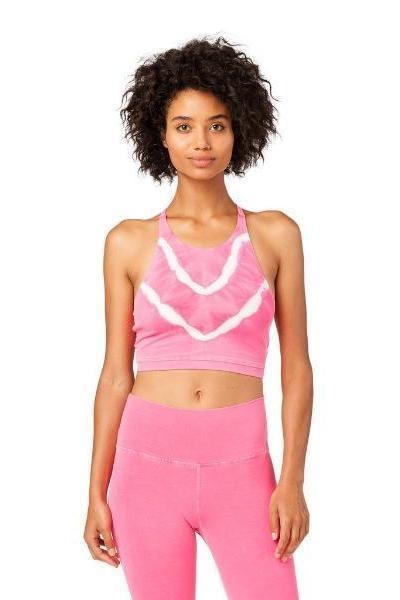 Electric & Rose Grayson Crop Dragon fruit - yApparel
