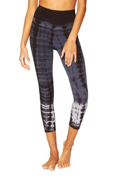 Electric & Rose Sunrise Capri Legging  Shadow Mermaid Wash - yApparel