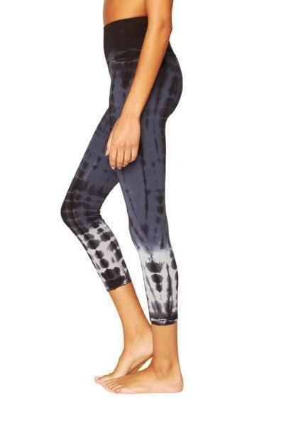 Electric & Rose Sunrise Capri Legging - Shadow Mermaid Wash - yApparel