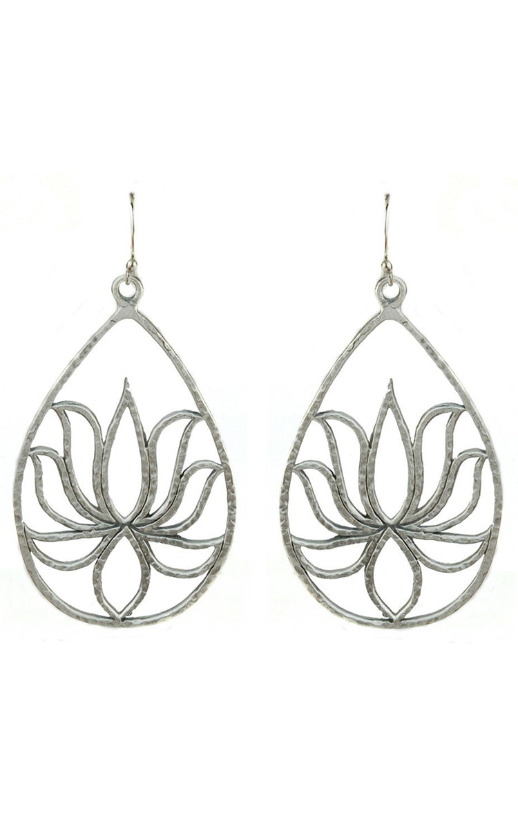 Satya Jewelry Satya Lotus Earrings - yApparel