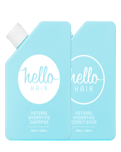 Hello Hair Hello Hair Hydrating Shampoo + Conditioner Duo - yApparel