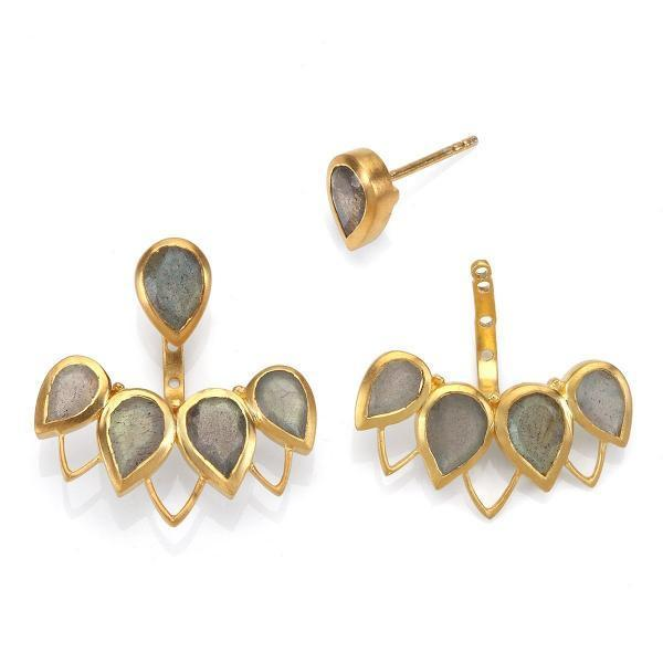 Satya Jewelry Power of Perseverance Earrings - yApparel