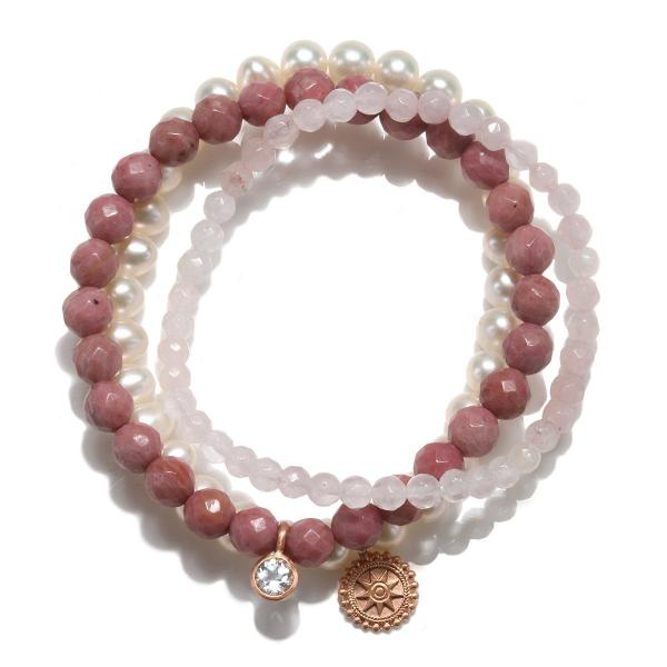 Satya Jewelry Vision of Love Bracelet Set - yApparel