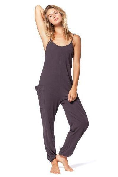 Electric & Rose Playa Jumpsuit Black Night - yApparel