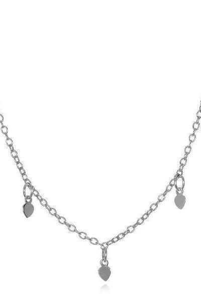 Satya Jewelry Arise Anew Silver Choker Necklace - yApparel