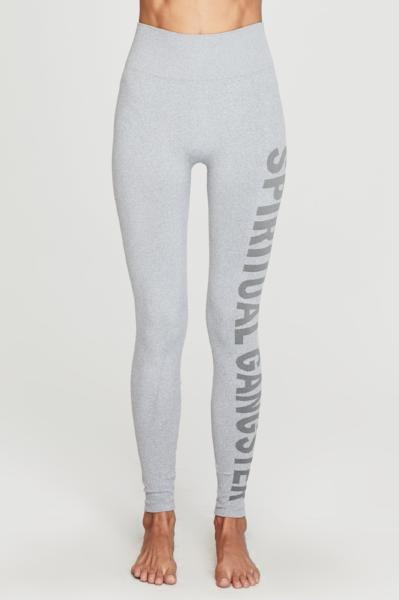 Spiritual Gangster Seamless High Rise Legging Heather Grey - yApparel