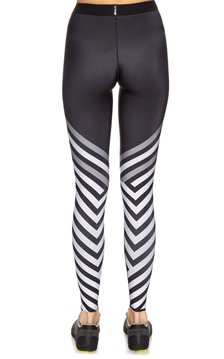 Ultracor Ultra Silk Warren Print Legging - yApparel