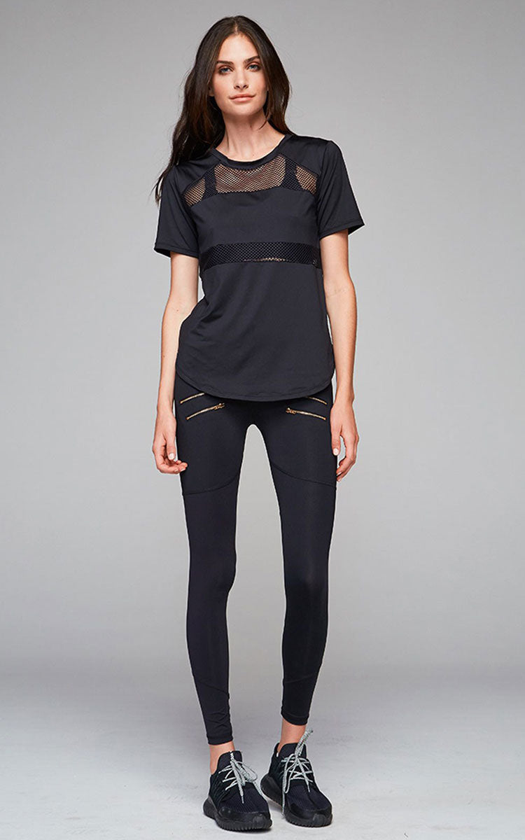 Varley Flint Black Top - yApparel