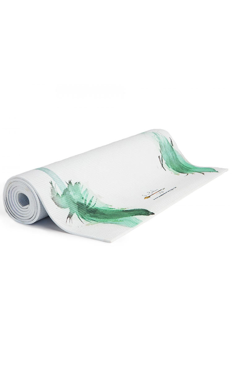 La Vie Boheme Yoga Warrior Yoga Mat - yApparel
