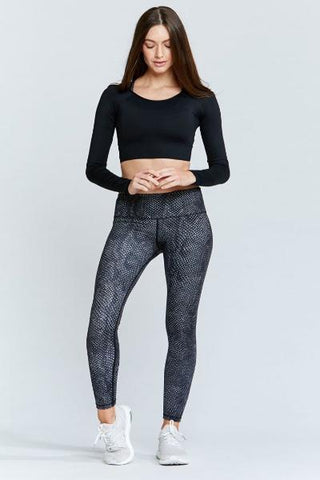 Mystical Garden High Waist Printed Yoga Legging