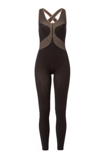 Wellicious Organic Catsuit Brown - yApparel
