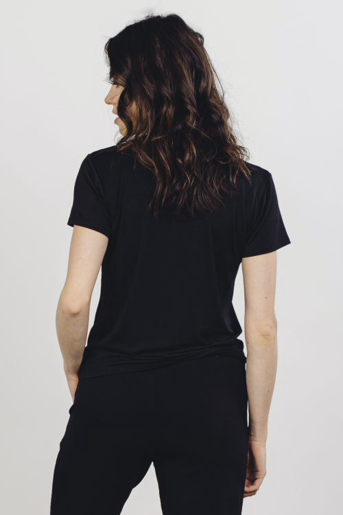 Softwear Women's Tee - Black - yApparel