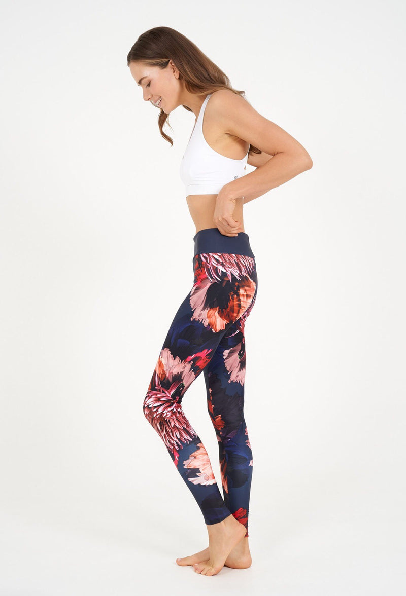 Dharma Bums Euphoria High Waist Printed Legging - Full Length - yApparel