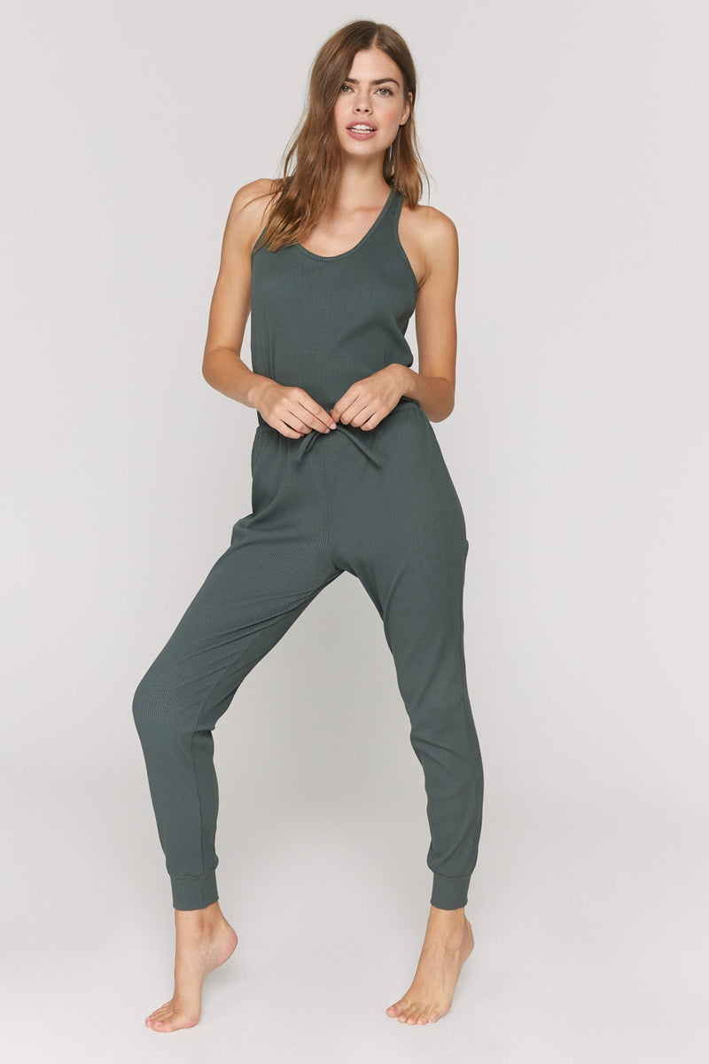 Spiritual Gangster Giselle Rib Jumpsuit - yApparel