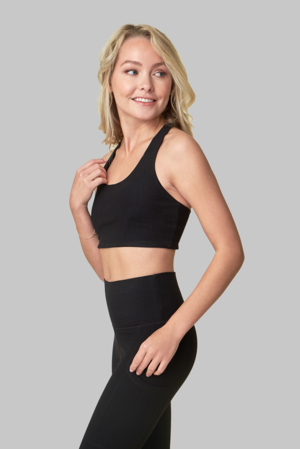 Wolven Threads Onyx Yoga Top - yApparel