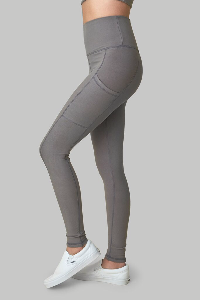 Wolven Threads Wolf Grey Legging - yApparel