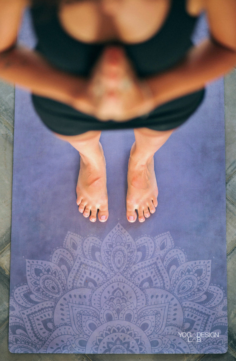 Yoga Design Lab Travel Mat - Manduka Azure - yApparel