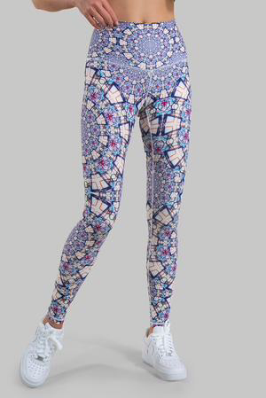 Wolven Threads Mandala Legging - yApparel