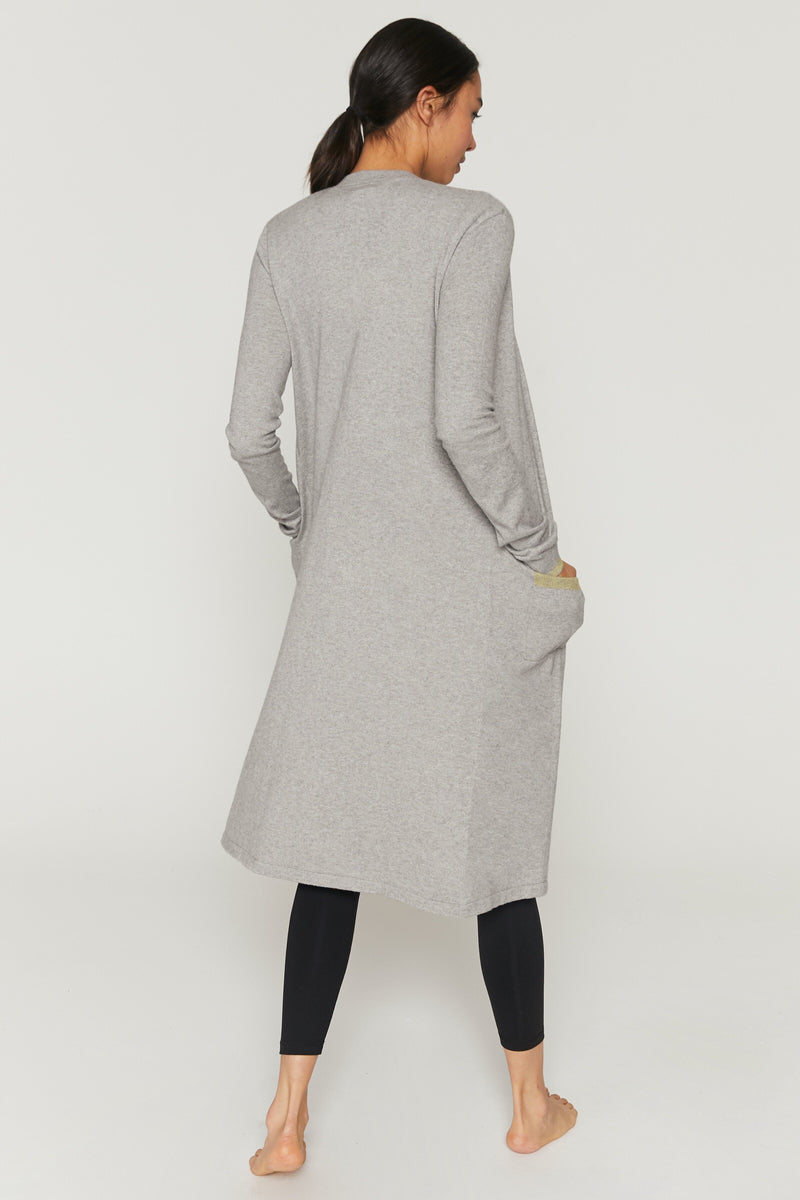 Spiritual Gangster Cali Cashmere Duster - yApparel
