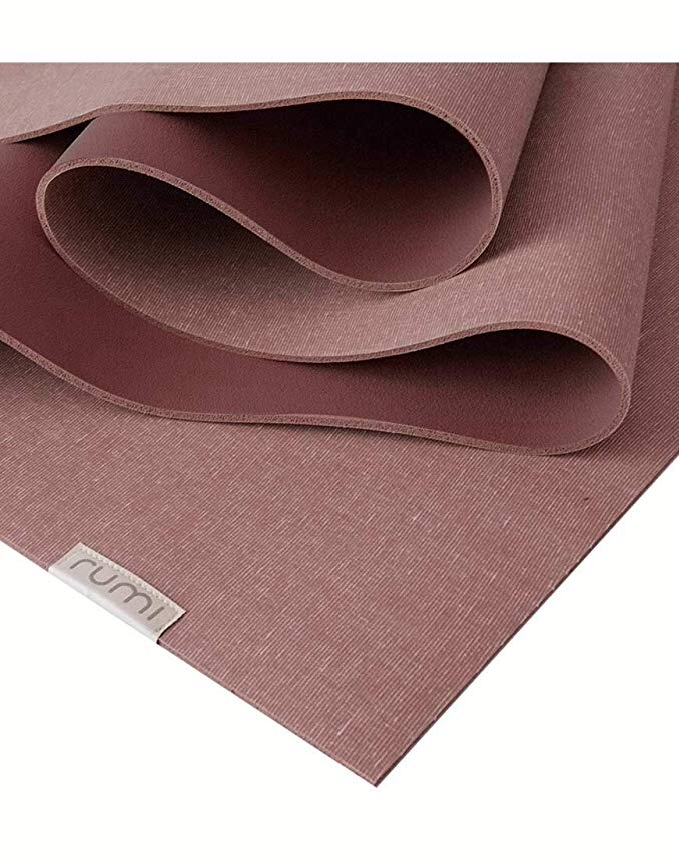 Rumi Earth Sun Yoga Mat - Maroon - yApparel