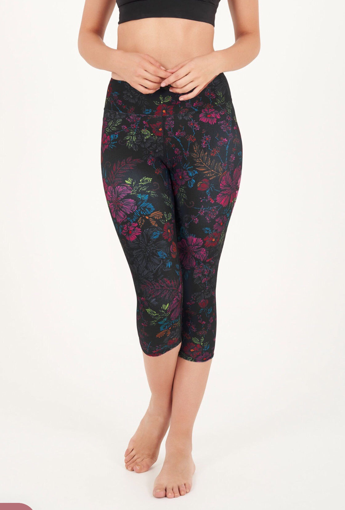 Dharma Bums Equinox High Waist Printed Legging - Crop - yApparel