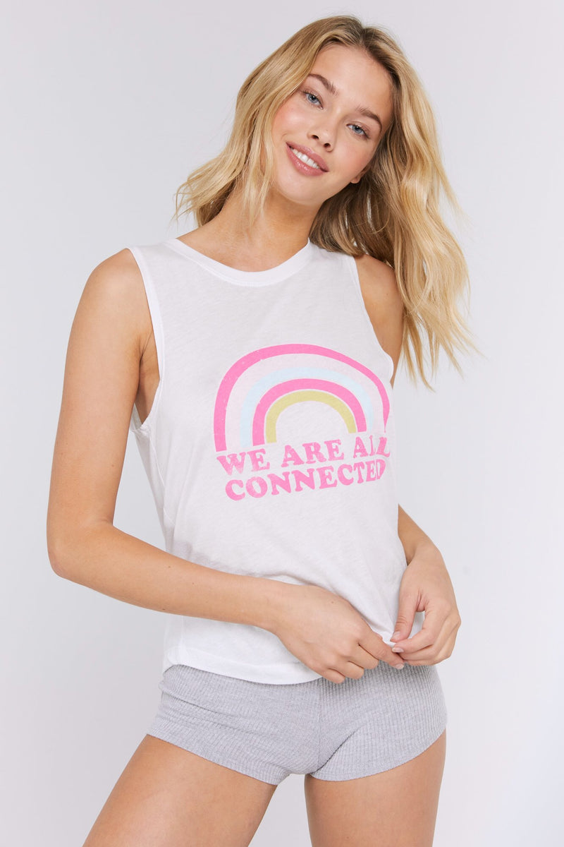 Spiritual Gangster We Are All Connected Muscle Tank - yApparel