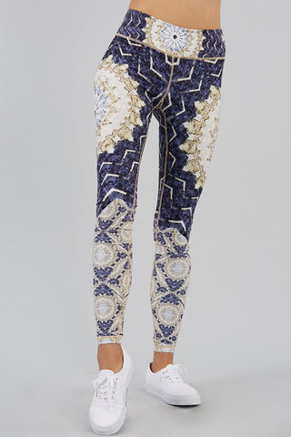 Gypsy Heart Printed Legging - 7/8