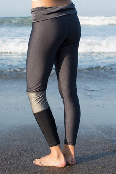 Salt Gypsy Gunmetal Surf Legging - Single Leg - yApparel