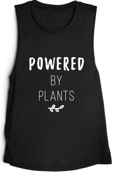 Wholesome Culture Powered By Plants Muscle Tank - yApparel