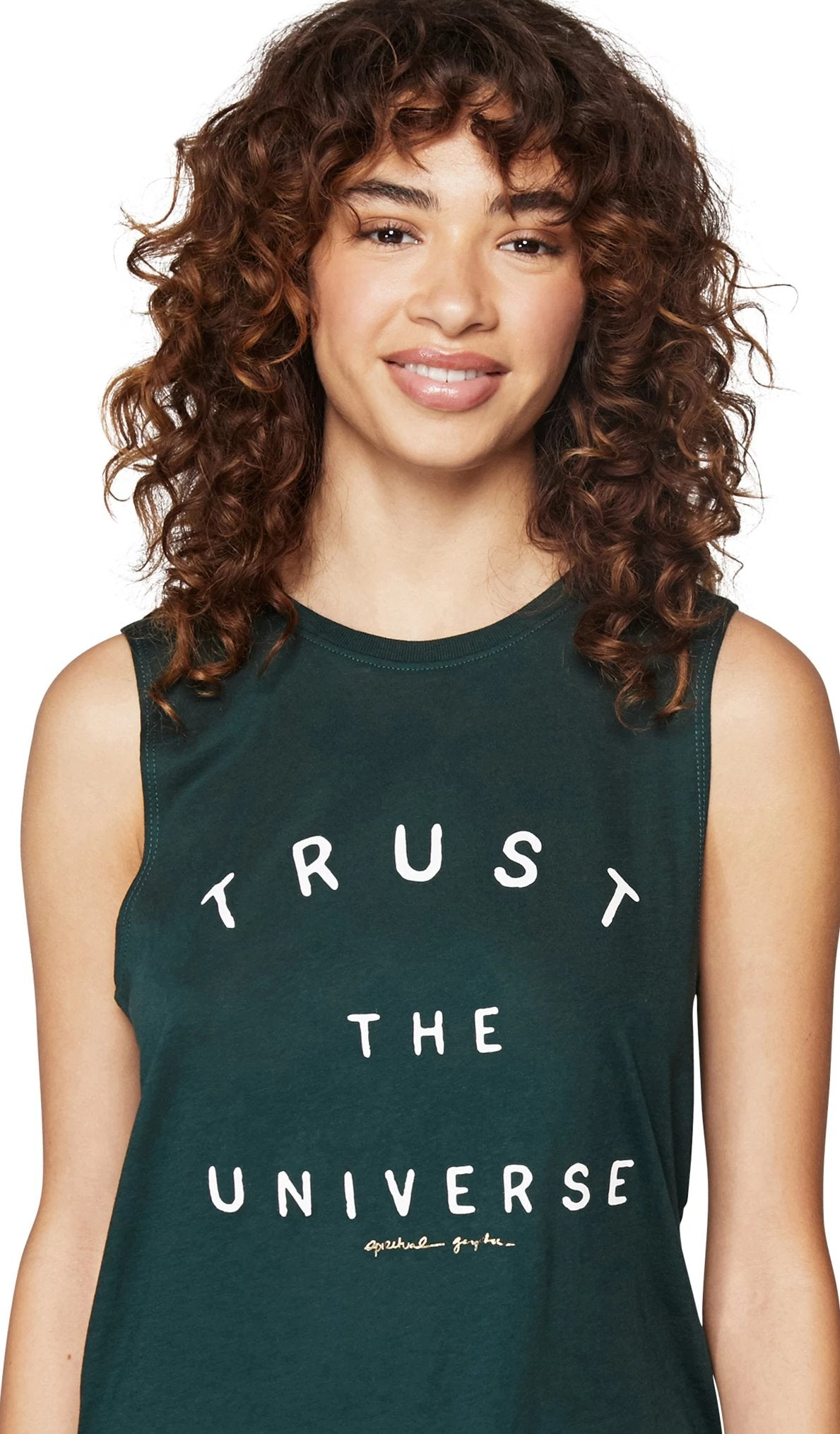 Spiritual Gangster Trust the Universe Muscle Tank - yApparel